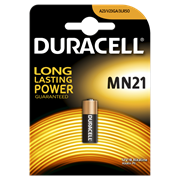 Батарейка Duracell MN21 B1 Security 12V Alkaline (1 шт. в упаковке)